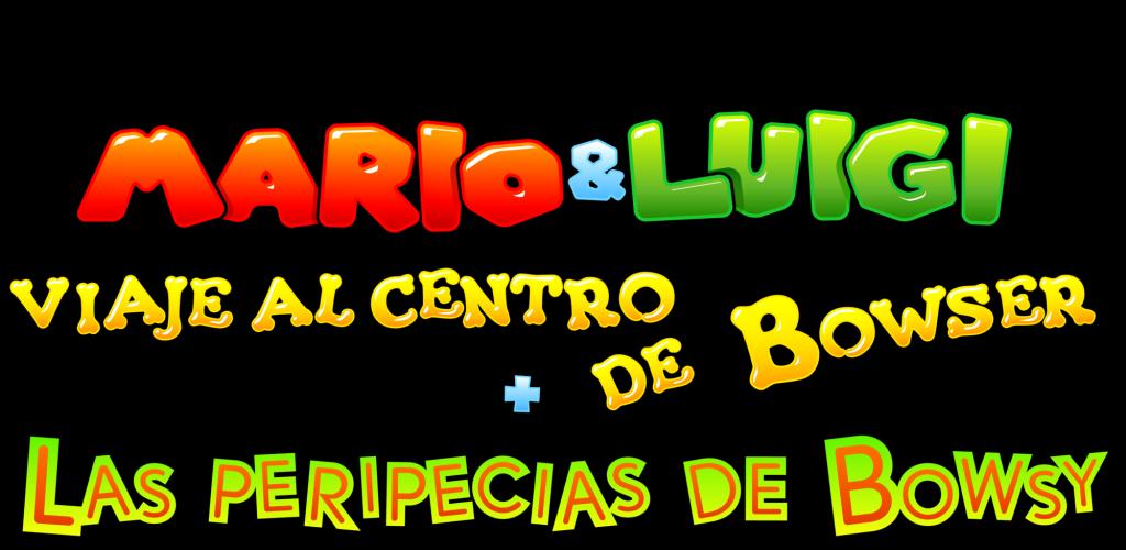 Mario & Luigi - Viaje al centro de Bowser logo
